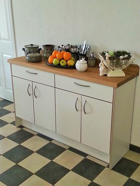tischler - möbelbau in nordfriesland - möbelbau küchenbau - Anrichten Küche
